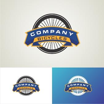 Modèle de conception de logo de bicyclettes