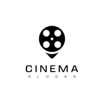 Modèle de conception de logo de cinéma