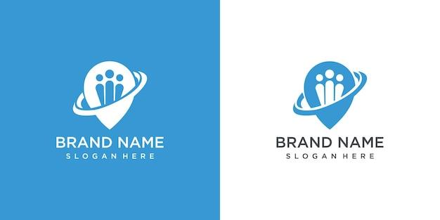 Modèle de conception de logo créatif