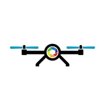 Modèle de conception de logo de drone