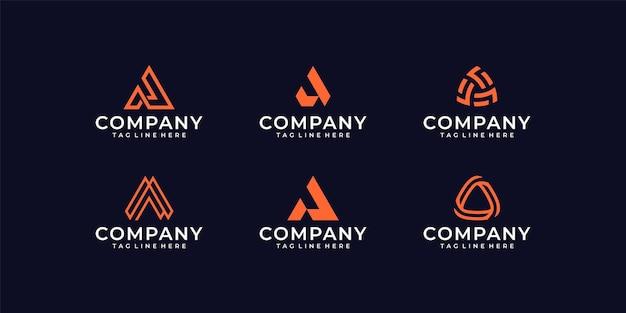 Modèle de conception de logo élégant et carte de visite lettre b musique vague.