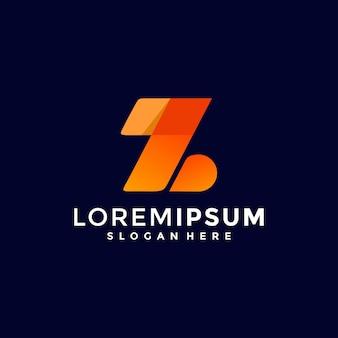 Modèle de conception de logo lettre z