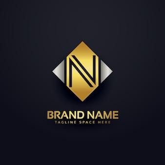 Modèle de conception de logo premium créatif