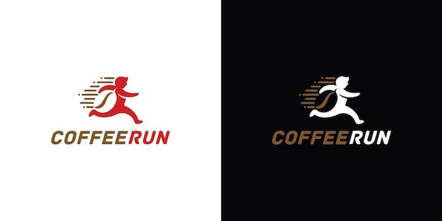 Modèle de conception de logo de vecteur de tasse à café étiquettes de café de vecteur