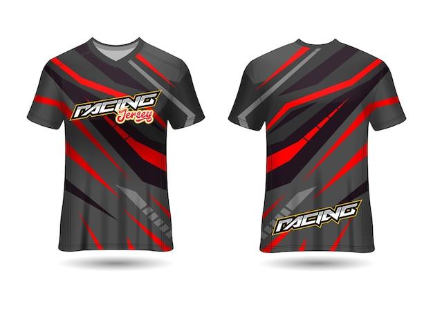 Modèle de conception de maillot de course de sport pour les uniformes d'équipe