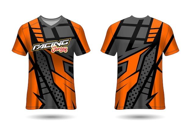 Modèle de conception de maillot de sport d'équipe