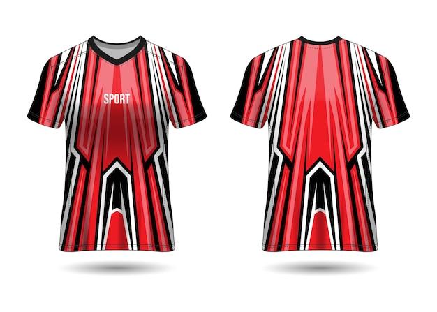 Modèle de conception de maillot de sport pour les uniformes d'équipe