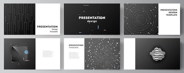 Modèle de conception de présentation d'astronomie professionnelle