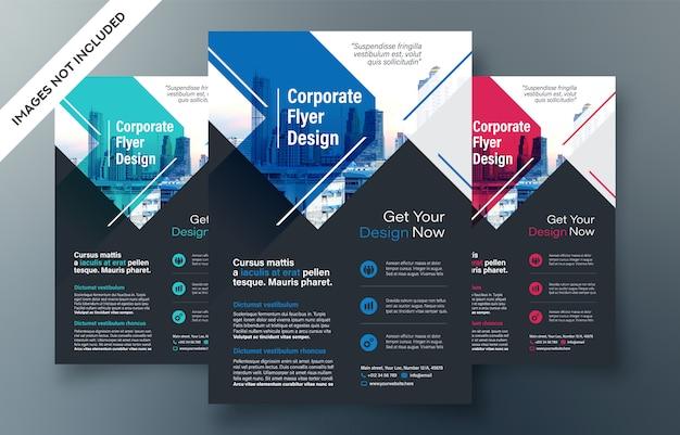 Modèle de conception de prospectus d'entreprise