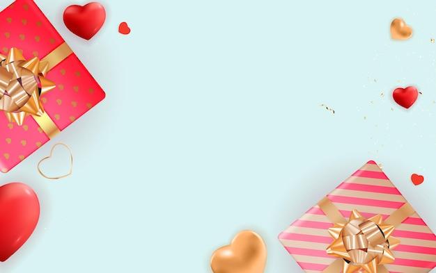 Modèle de conception de la saint-valentin