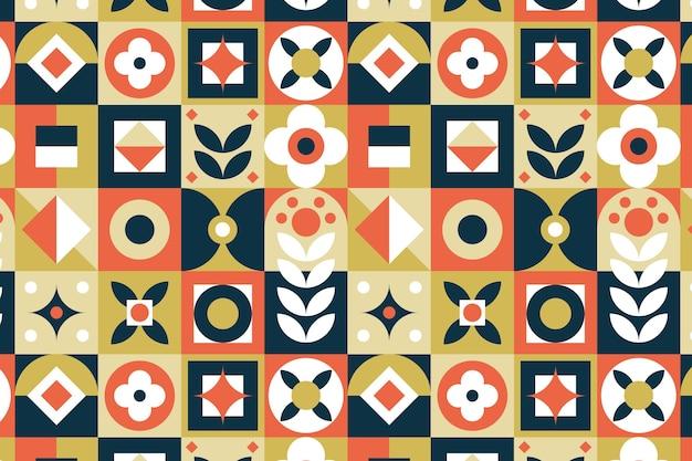 Modèle de conception scandinave plat