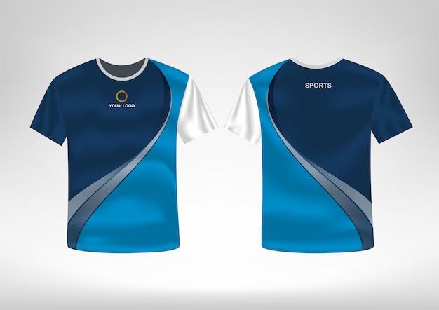 Modèle de conception de t-shirt sport