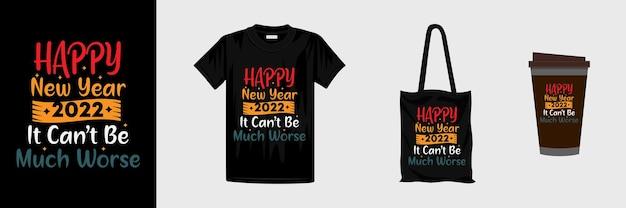 Modèle de conception de typographie du nouvel an