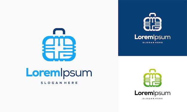 Modèle de conceptions de logo de nourriture de miel, vecteur de concept de conceptions de logo en nid d'abeille