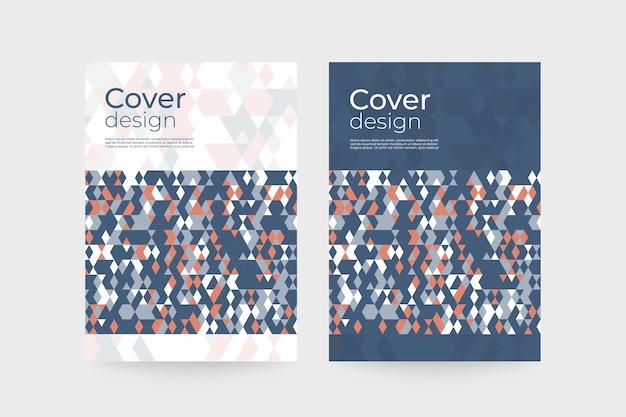Modèle de couverture de brochure d'entreprise
