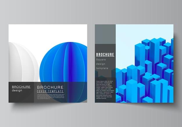 Modèle de couverture de brochure professionnelle