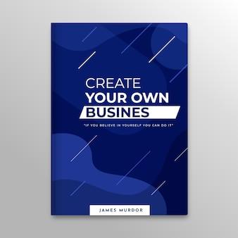 Modèle de couverture de livre d'entreprise
