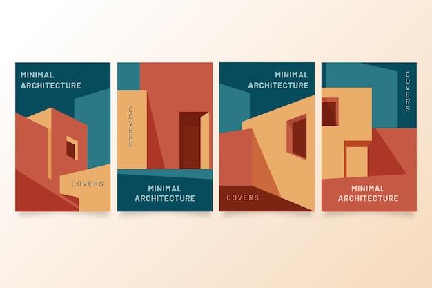Modèle de couvertures d'architecture minimale