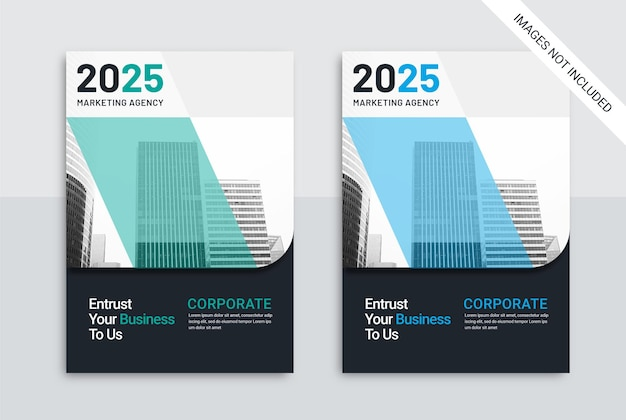 Modèle cover business marketing agency