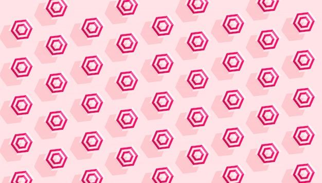 Modèle créatif d'été avec des parapluies roses blancs rayés sur fond rose