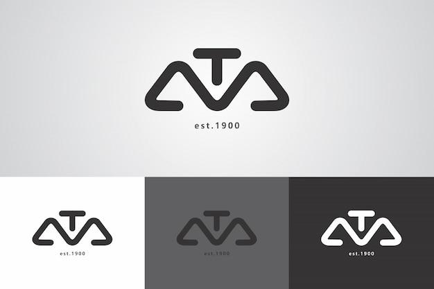 Modèle de création de logo ata créatif