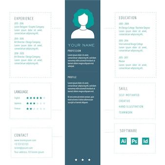 Modèle de cv en ligne