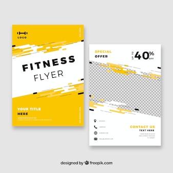 Modèle de Flyer de gym