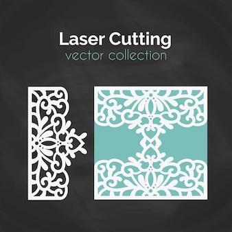 Modèle de découpe laser.