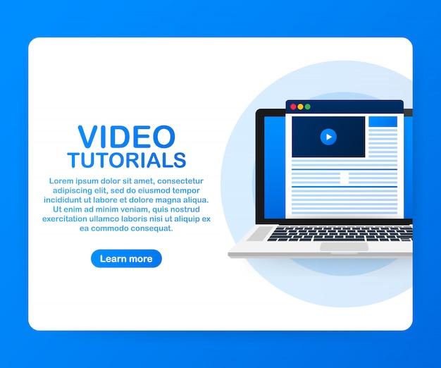 Modèle de didacticiels vidéo