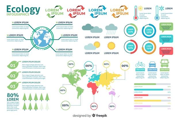 Modèle de données infographique