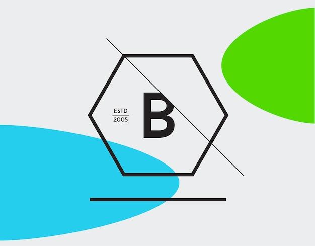 Modèle doublé géométrique minimal pour l'identité de hipster dans le vecteur