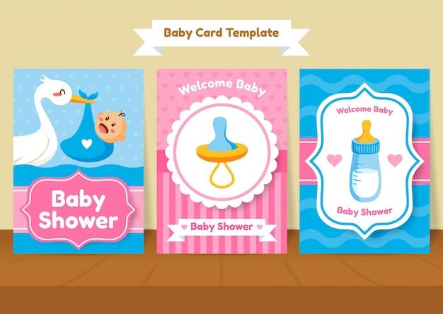 Modèle de douche de bébé