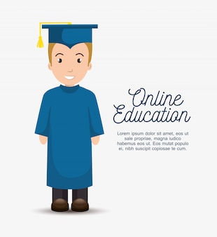 Modèle d'éducation en ligne