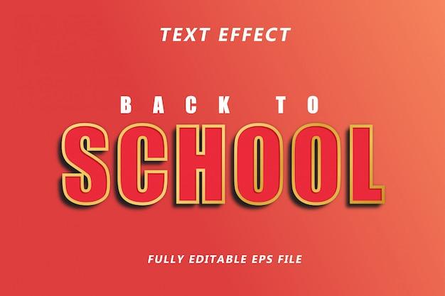 Modèle effet de texte