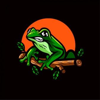 Modèle d'emblème de logo ducky esports