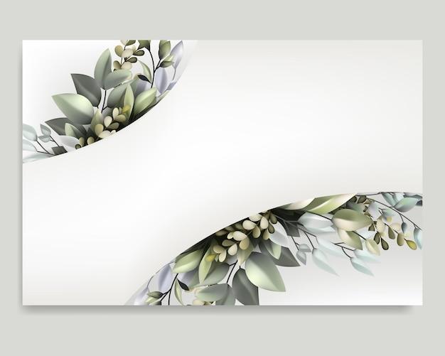 Modèle avec encadrement de la flore