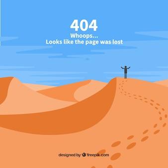 Modèle d'erreur 404 dessinés à la main