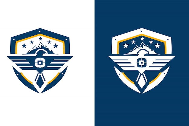 Modèle extérieur de l'emblème eagel