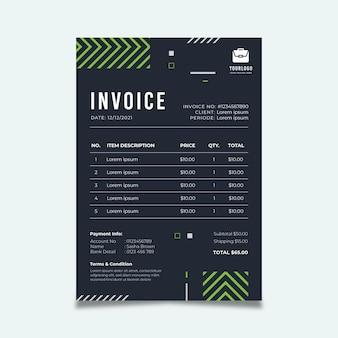 Modèle de facture commerciale générale