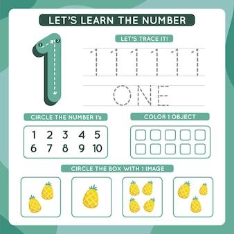 Modèle de feuille de calcul numéro 1