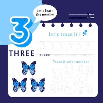 Modèle de feuille de calcul numéro 3
