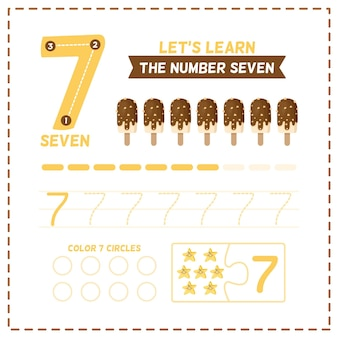 Modèle de feuille de calcul numéro 7