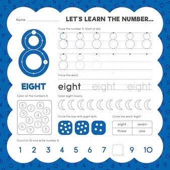 Modèle de feuille de calcul numéro 8