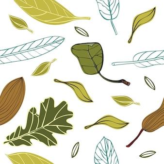 Modèle avec des feuilles