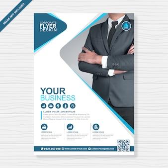 Modèle de flyer a4 couverture entreprise