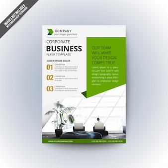 Modèle de flyer d'affaires