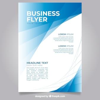 Modèle de flyer d'entreprise moderne