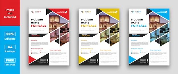 Modèle de flyer immobilier