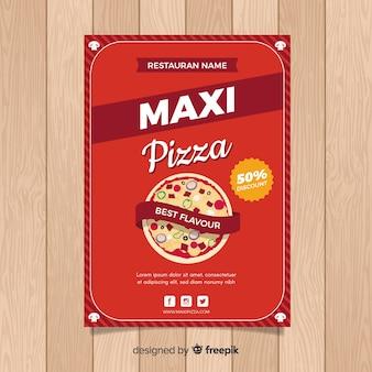 Modèle flyer pizza