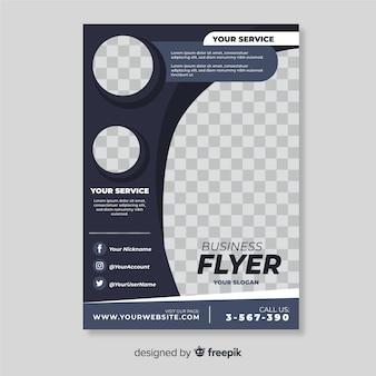 Modèle de flyer professionnel